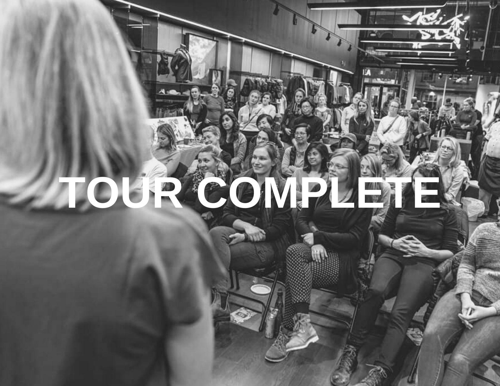 USA Wide Women's Empowerment Tour with Arcteryx- 2019